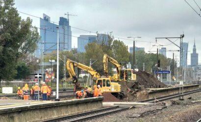 Ruszyła przebudowa stacji Warszawa Zachodnia