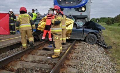 Warmińsko-mazurskie: tragiczny wypadek na torach