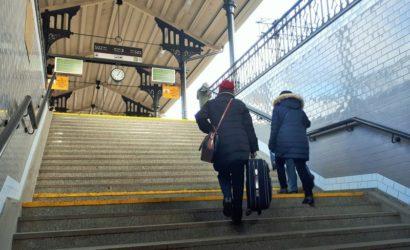 Gdańsk Główny: podróżni korzystają już z odnowionego przejścia do centrum
