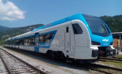 Stadler dostarczył do Słowenii komplet pięciu spalinowych pojazdów FLIRT